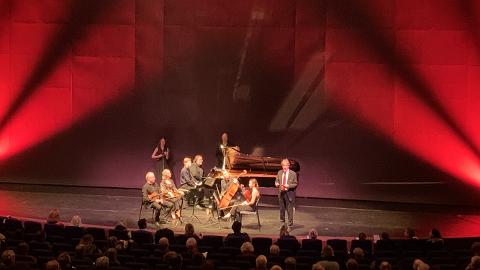 250-års bursdagskonsert i Hjertnes kulturhus.