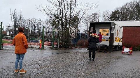 ØKT: Kapasiteten ved teststasjonen har økt og stadig flere tester seg, ifølge Sandefjord kommune.
