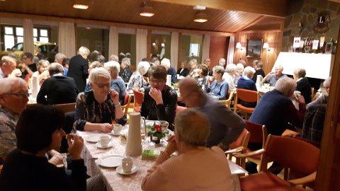 Årsmøte i Andebu Pensjonistforening.