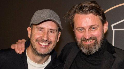 RADARPAR: Thomas Numme og Harald Rønneberg ledet «Senkveld» på TV 2 i en årrekke. De ga seg våren 2018.  Foto: Terje Pedersen/NTB scanpix
