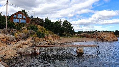 LUKSUS: Hytta til Jon Magne Asmyr kan du leie for 40-55.000 kroner uka. Hytta ligger ved Susebukta.