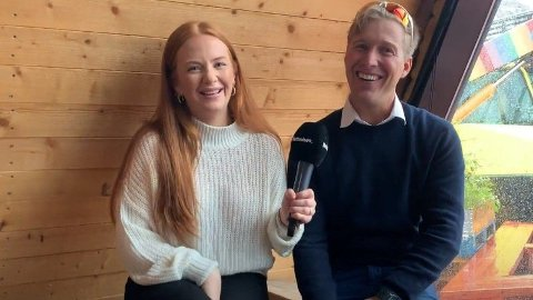 MED I NYSATSING: Mari Nygaard og Stian Himberg dukker opp på TV i løpet av høsten.