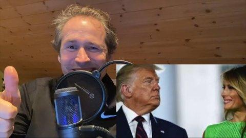 SANG: Komiker Espen Rolstad har laget en sang om Donald Trumps avskjed fra Det hvite hus.