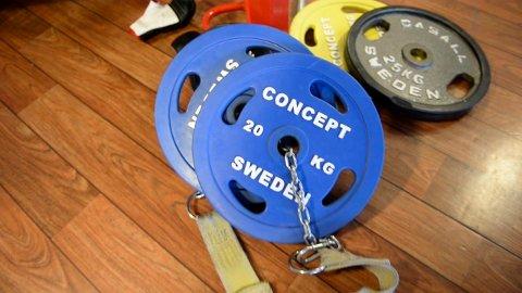 STØRRE AVSTAND: Fra 2. februar må du holde minst to meters avstand til dine treningspartnere på treningssentrene i Sandefjord.