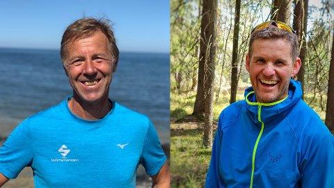 NYE ARRANGØRER: Frode Monsen (t.v.) og Øyvind Kvernen ser fram til en aktiv dag i Sandefjord 31. juli.