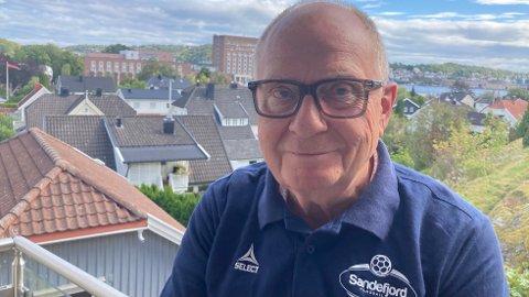LEDER: Styreleder i Sandefjord Håndball, Knut Bakke.
