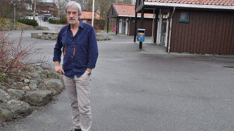 FLEIRE LÆRARAR: Rektor Paul Næsse er glad for at Lurahammaren ungdomsskole har fått 2,5 fleire lærarstillingar etter at han varsla skulekrise i vår.