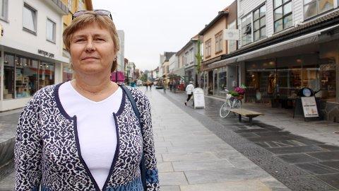 ETTERVERN: KrFs Bjørg Riska Josefsen tok opp det hun mener er mangel på et skikkelig ettervernstilbud under mandagens bystyremøte.