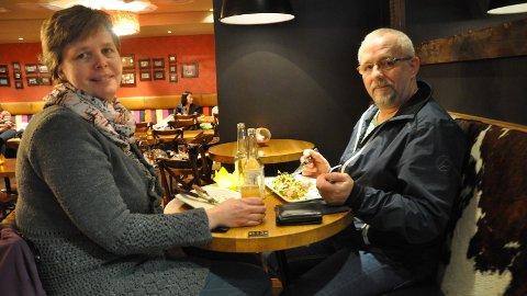 REKORD: Marianne Gjesdal Lyngås og Jan Roger Lyngås var to av mange som sist uke bidro til at 100-ugå satte ny rekord.