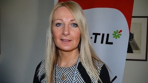 ALKOVETT: Kristin Øie Stien leiar arbeidet det nye arbeidet med alkovett i Sandnes kommune.