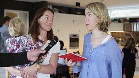 STYREMEDLEMMER: Hilde Sværen-Hjulstad (t.v.) og Helene Barkved er to av styremedlemmene i Skaarlia friluftsskole.