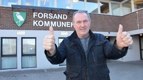 [b]LØFT:[/b] Næringssjef og tidligere ordfører i Forsand kommune Årstein Løland tror næringslivet i Forsand vil få et løft i Nye Sandnes.