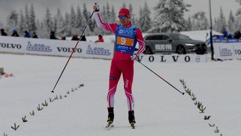 SØLV: Anders Tettli Rennemo hadde grunn til å være fornøyd etter at han hadde sikret seg stafettsølv i norgesmesterskapet forrige helg.
