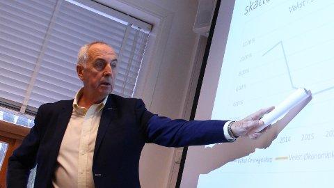 UTREDNING: Sammen med 14 andre ordførere har Stanley Wirak (Ap) skrevet brev til partilederne på Stortinget hvor de ber om en konsekvensutredning av havområdene utenfor Lofoten, Vesterålen og Senja. Arkivfoto: Andreas Kydland