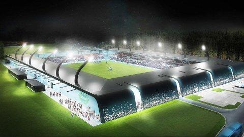KOSTER PENGER: Det nye stadionanlegget vil koste rundt 150 millioner kroner.