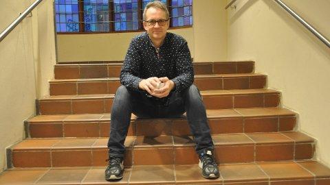 HAR TRUA: Kulturhussjef Anders Netland tilbakeviser kultursjefen sin uro for kortfilmfestivalen.