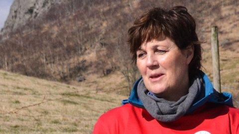 FYRER LØS: Anne-Lise Fack Anfinsen er ikke nådig i sin kritikk av posisjonen som tok midlene til den planlagt sykkelstien til Sandnes Arena ut av budsjettet.