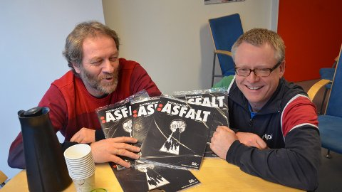 UTFORDRENDE: Byprestene Rune Skøyen og Øyvind Justnes Andersen legger ned mye arbeid mot byens rusmiljø. Men nedgangstider i regionene gjør at også Byprestene må tenke nytt framover.