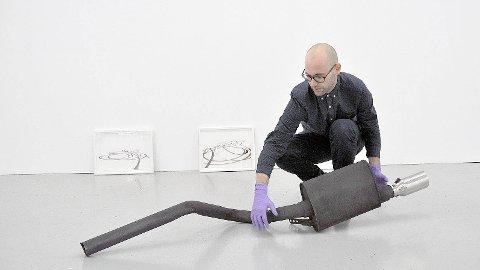 STIPEND: Hardtarbeidende Nils-Thomas Økland har for tredje år på rad blitt tildelt stipend fra Billedkunstnernes Vederlagsfond.