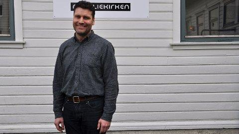 FRIMODIG: Sandnesprest Vidar Mæland Bakke meiner den nye ekteskapslæra er feil, og er med og stiftar det nye nettverket «Frimodig kyrkje».