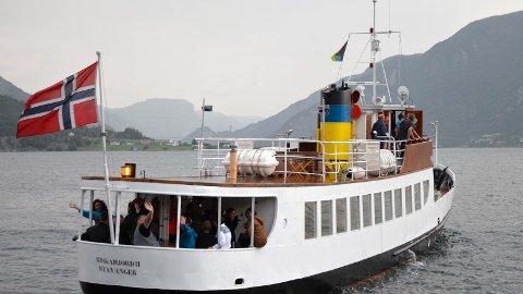FARTØYSTØTTE: Riskafjord II er en av to båter i Sandnes som har fått økonomisk tilskudd fra Riksantikvaren.