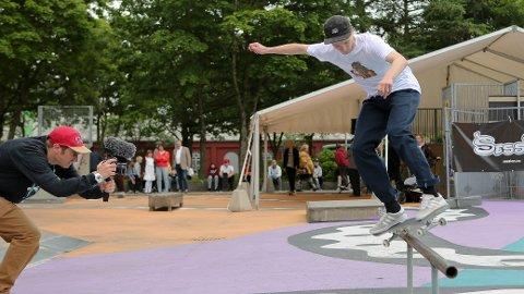 SKATING: Som under fjorårets utgave blir det også i år skating på Ruten. Arkivfoto: Frode Olsen