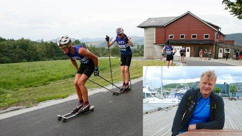 SUKSESS: Arne Idland (innfelt) mener at langløpet ble en folkefest. Foto: Frode Olsen/Maren Ege Tjoflåt