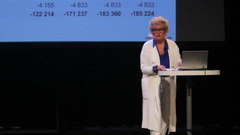 TEGN: Skatteinngangen var lavere enn beregnet i mai. Rådmann Bodil Sivertsen legger ikke skjul på at det ikke er et godt tegn at den negative tendensen fortsatte i juni.