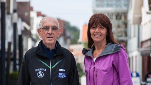 VETERANER: Sigurd Sirevåg og Marianne Tjetland har vært frivillige på Blink-festivalen hvert år siden starten i 2006.