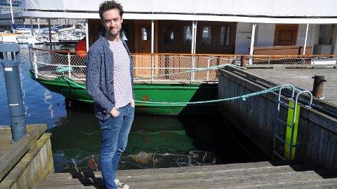 KONSERT: Finske og sandnesbusette Matias Kuoppala har sin fyrste solo-konsert på Sandnes Brygge fredag kveld.