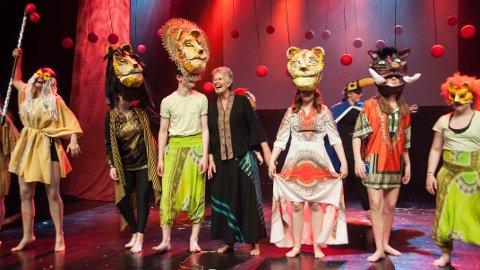 OVERDÅDIG: Vivas forestilling «En sirkel av livet» viste seg å være en overdådig gledesspreder.