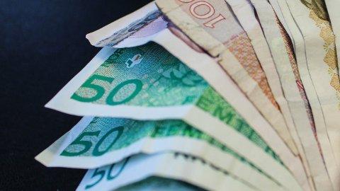 SKATT: Sandnes får ikke inn like mye skattepenger som beregnet.