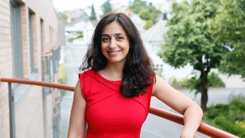 NY I BYEN: Hadia Tajik er nestleder i Arbeiderpartiet og nyinnflyttet i Sandnes.