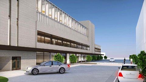 PÅBYGG:Havnegården kunne blitt bygget på for å huse en storaktør med 250 arbeidsplasser, dersom eier Arild Egelands planer hadde fått tommel opp.