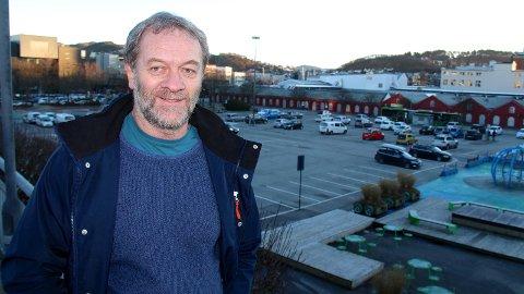 BLIR PENSJONIST: Byprest Rune Skøyen er et kjent ansikt i gatemiljøet i Sandnes. Nå er han inne i sin siste måned som byprest før en spennende pensjonisttilværelse venter.