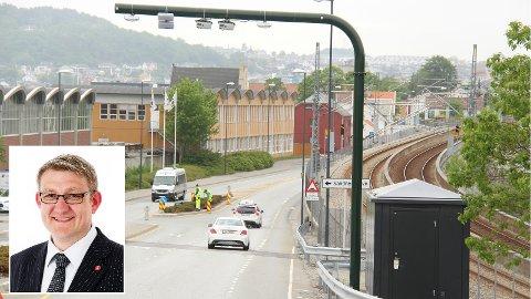 BOMPENGER: Kristoffer H. Nagell-Dahl er bystyrerepresentant i Sandnes og styremedlem Rogaland Frp.