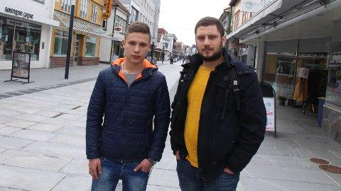SPLITTES: Maher Abdallah (15) og storebror Ammar Abdallah får ikke lenger bo i samme område. Etter at UDI nylig sa opp sin avtale med Sandnes mottak for mindreårige asylsøkere, må Maher flytte til Nordland hvor han var på plass tirsdag.