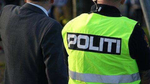 ARBEIDSUHELL: En person skal ha blitt skadet i et arbeidsuhell i Noredalen onsdag kveld.