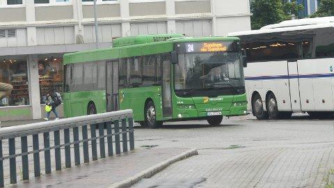 BUSS: Blinkfestivalen gjør at flere av bussrutene ikke går fra sine faste holdeplasser.