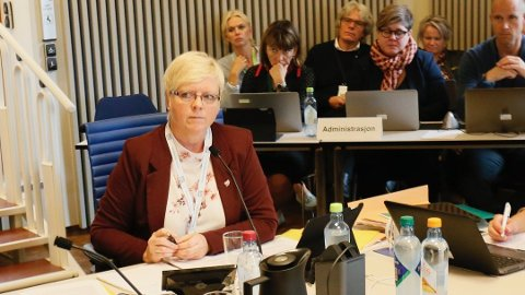 OPPGITT: Solveig Ege Tengesdal sitter i styringsgruppen sammen med blant andre ordførerne i Randaberg, Sola, Sandnes og Stavanger.