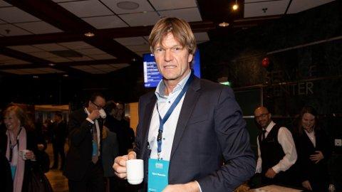 BLAR OPP: Bjørn Maaseide blar opp fem millioner kroner for å unngå at svigersønnen går personlig konkurs.