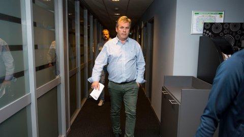 Thor Einar Sandvik har vært gjennom en travel periode. Tirsdag traff han seg som styreleder for Viking ASA.