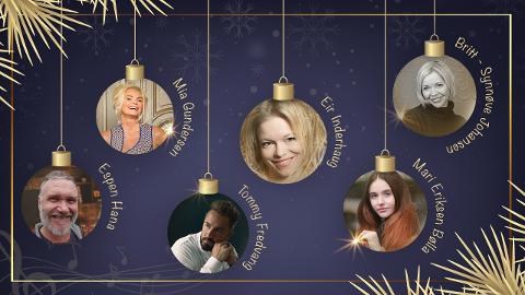 Flere kjente artister skal opptre i Sandnes kulturhus i desember.