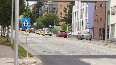 STORT PROSJEKT: Utvidinga av Oalsgata skal koste mellom 400 og 600 millionar kroner.