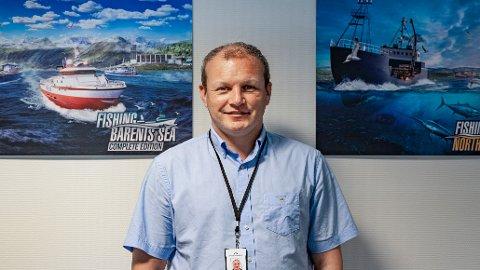 SOLIDE TAL: Gøran Myrland, dagleg leiar ved Misc Games AS, har nyleg vore med på å lansere eit nytt spel. I haust fekk dei òg tre millionar frå NFI til å utvikle nok eit prosjekt.