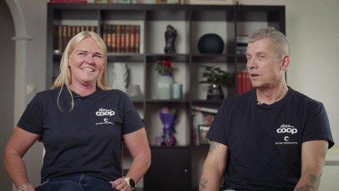 Tone og Karl Lima driver sykkellaget sammen.