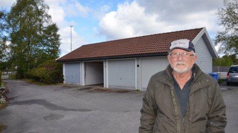 Garasjeanlegget til Arnfinn Slettebø i Kobberveien er reddet.