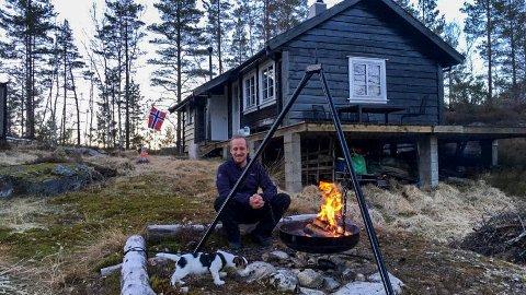 HYTTEFORLIK: Axel Hermanns ville heve kjøpet av denne hytta i Sirdal. No er det inngått eit forlik.