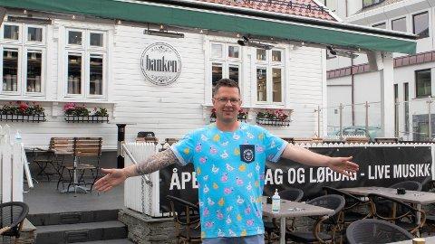 Frode Knutsvik ser positivt framover for bransjen.