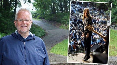 Jostein Olsen ledet Håbetfestivalen, der MODS spilte to ganger. Nå vil popkongen Abel gjerne bidra hvis ny festival blir aktuelt.